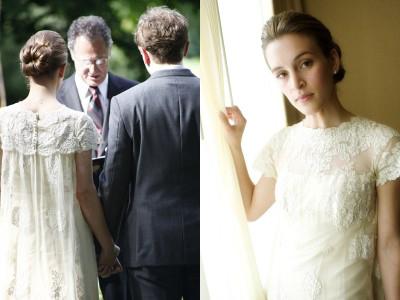 Ethereal Wedding Dress. vintage wedding dress is