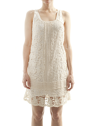 steven alan crochet lace dres