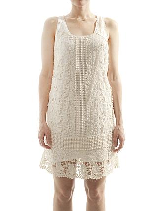 steven alan crochet lace dres